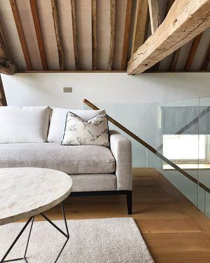 The beautifully restored barn conversion we've been helping kit out ready for Airbnb 🏠 - - - - #perringdesign #interiorstyling #barnconversion #restoration #barnrestoration #timberbarns #farrowandball #strongwhite #warwickfabrics #amazinginteriors #furnishingforairbnb #airbnb #interiordecorating #interiorstyliest #stagefurniture #interiors123 #oakflooring #beams #inspiringinteriors #wiltshireholidaycottages #sahco #kvadrat #oldhousenewhome #makingbarnsgreatagain