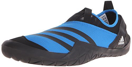 Amazon.com | adidas Outdoor Men's Climacool Jawpaw Slip-on Water Shoe, Black/White/Utility  Black, 6 M US | Water Shoes