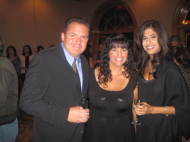 JP Brogan, Lynda Browning and AnnMarie Brogan