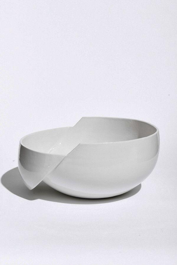 Minimalist Ceramics Focused On Deconstruction Ceramic Furniture Ceramic Design Tableware Design