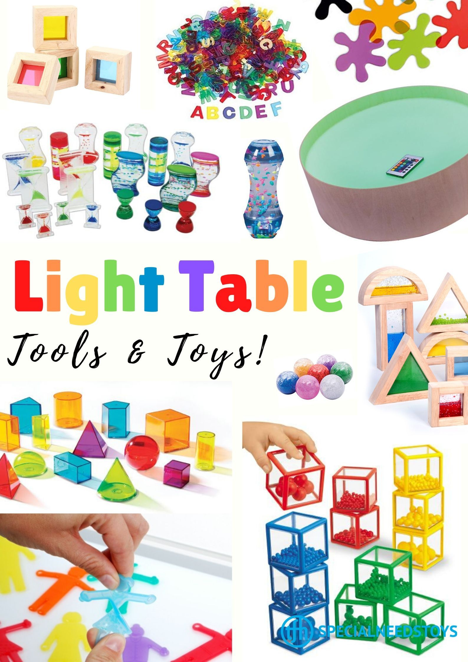 Light Tables And Panels Are Excellent Learning Tools That