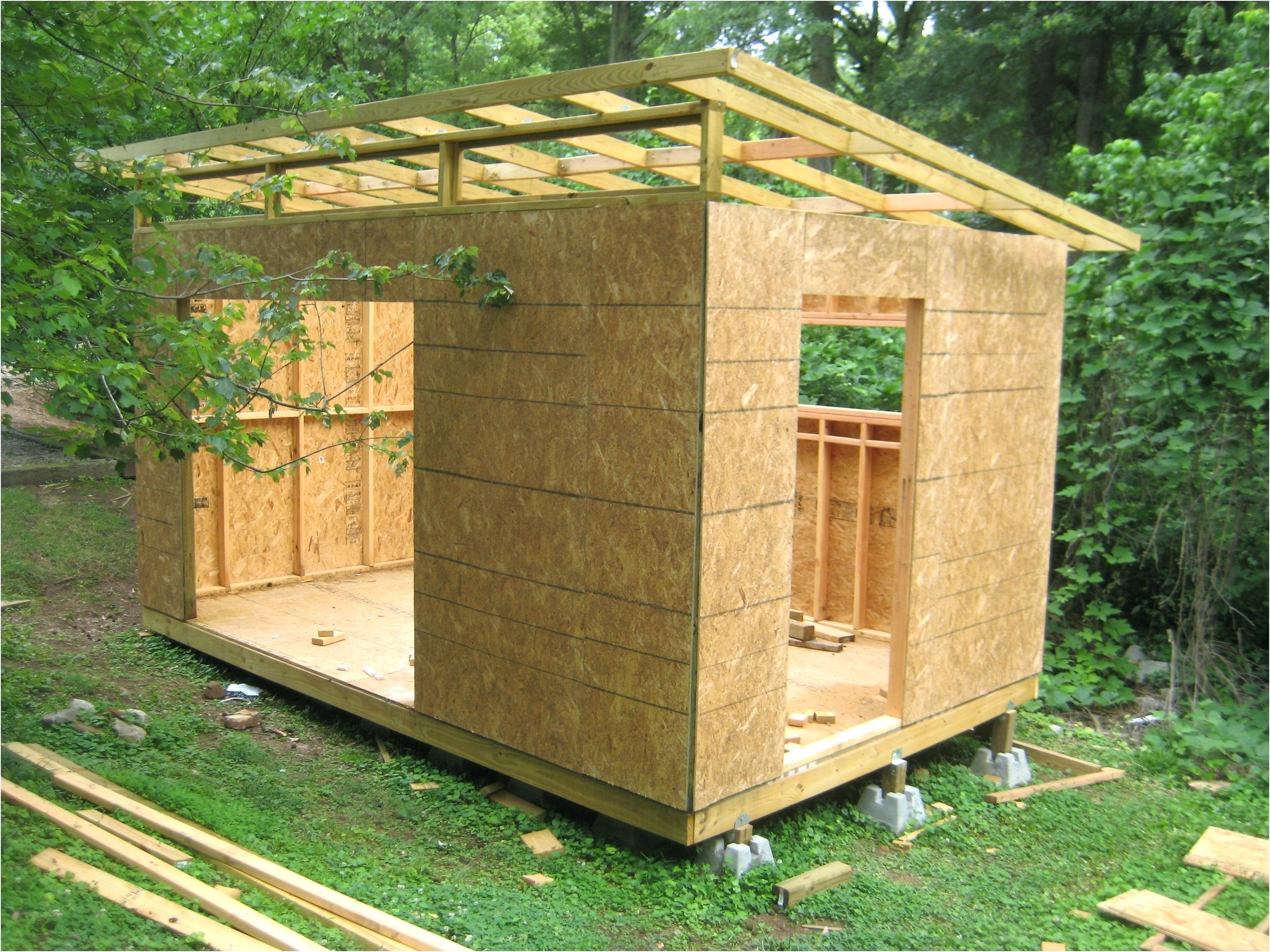Bauanleitung Gartenhaus Terrassena Berdachung Genial