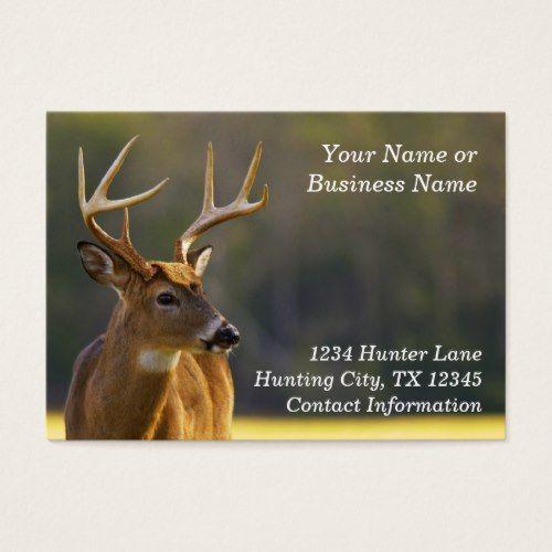 Hunting Hunter Wildlife Whitetail Buck Animal Business