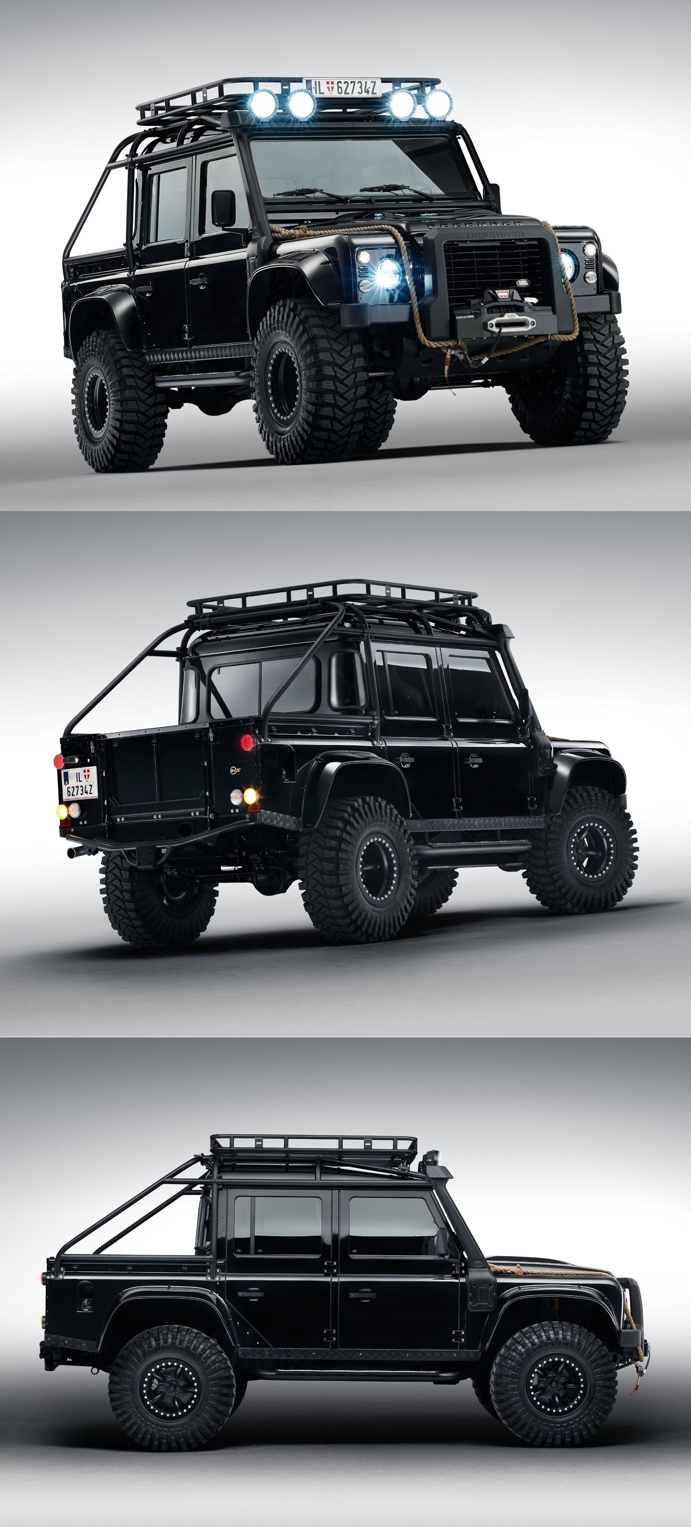 land rover defender range rover sport svr from spectre. Black Bedroom Furniture Sets. Home Design Ideas