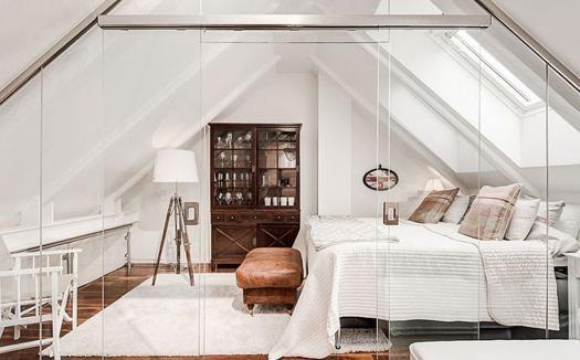 Elegante Moderne Schlafzimmer Designs Im Skandinavischen Stil #wohnzimmer # Dachwohnung #gemutlichelegante #lampeskandinavisch #esszimmer
