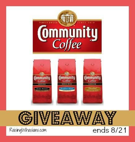 Community Coffee Prize Pack GIVEAWAY Do you love coffee? I know I can't go a day without it! Community coffee offers so much more than just grounds of you