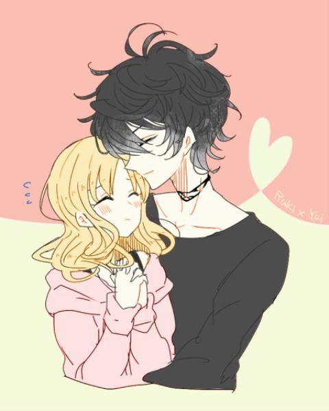 Ruki Mukami and Yui Komori 【Diabolik Lovers】 | Anime