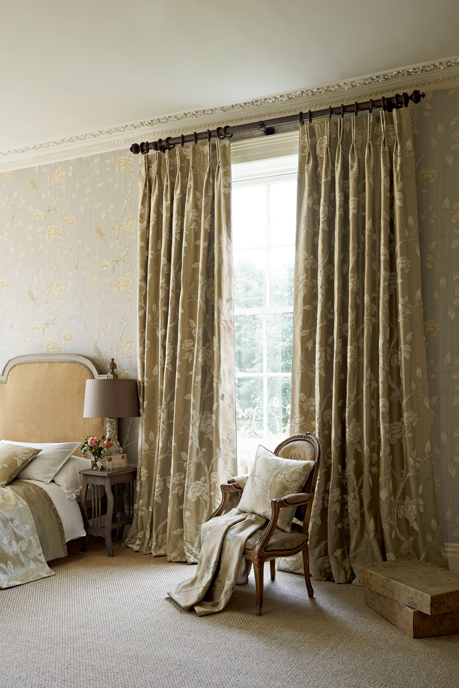 Zoffany Woodville Fabric Made To Measure Curtains Blinds Soft