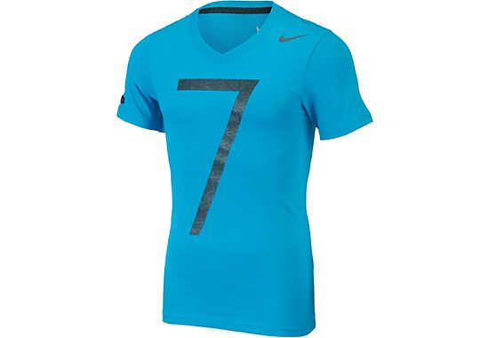 more photos 297ab 4cd28 Nike CR7 V-Neck Tee - Neo Turquoise | Nike CR7 Collection ...