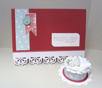 Sincerely, Babette: Birthday Card & Cake