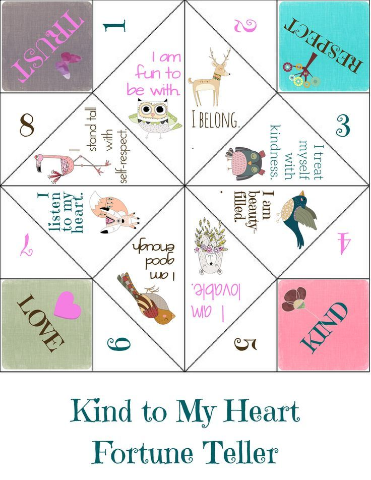 Positive Affirmations: Fun School Counseling Lesson & Group Game on ...