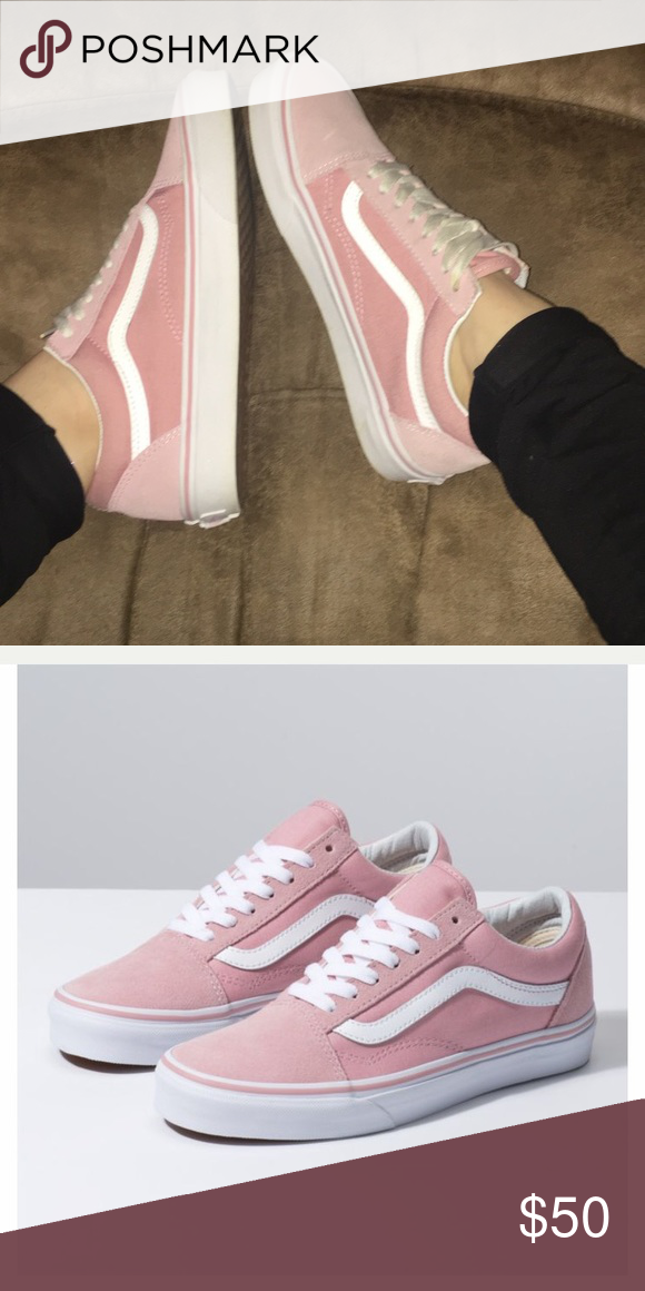 Vans, Baby pink, Vans classic old skool