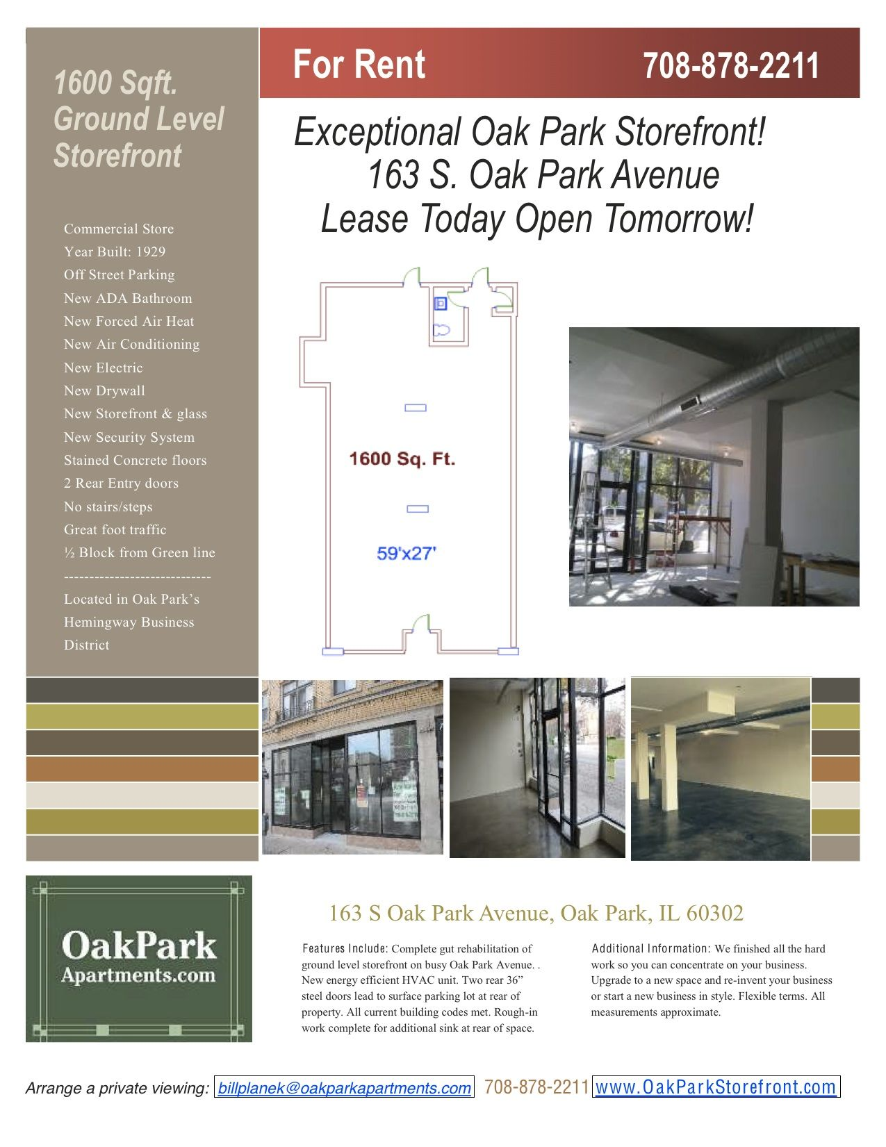 Calling All Businesses Check Out OpaS Newly Renovated Commercial