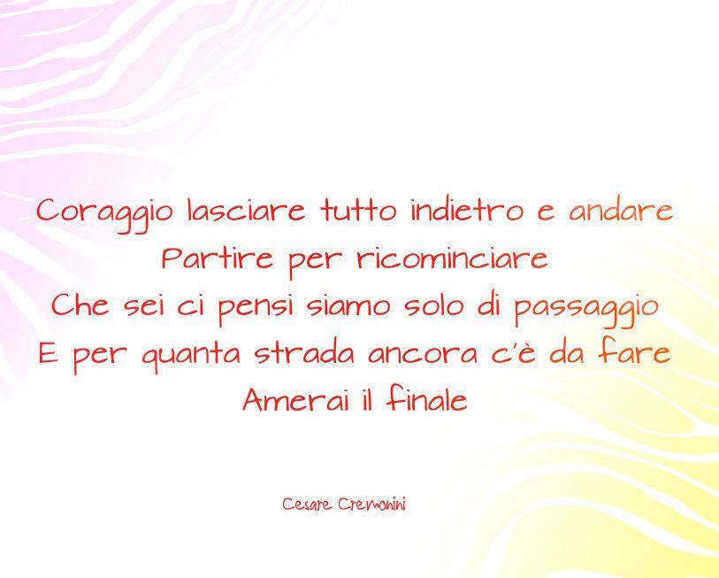 #BuonViaggio #sharethelove #CesareCremonini #love #canzone #bellissimo #wanderlust