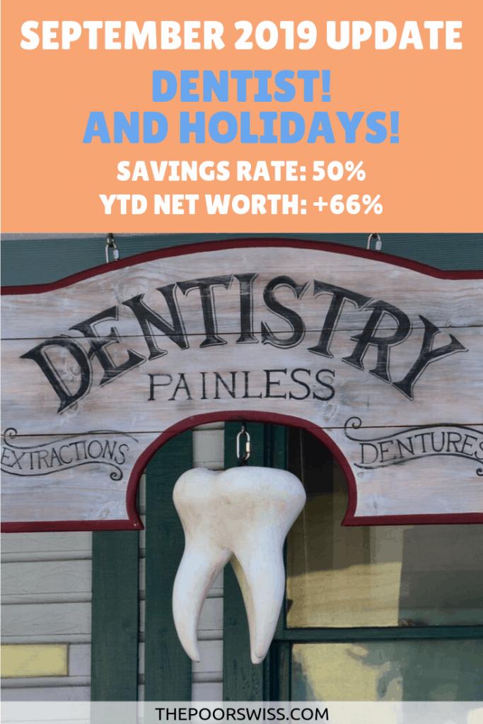 September 2019 Holidays And Dentist Bills