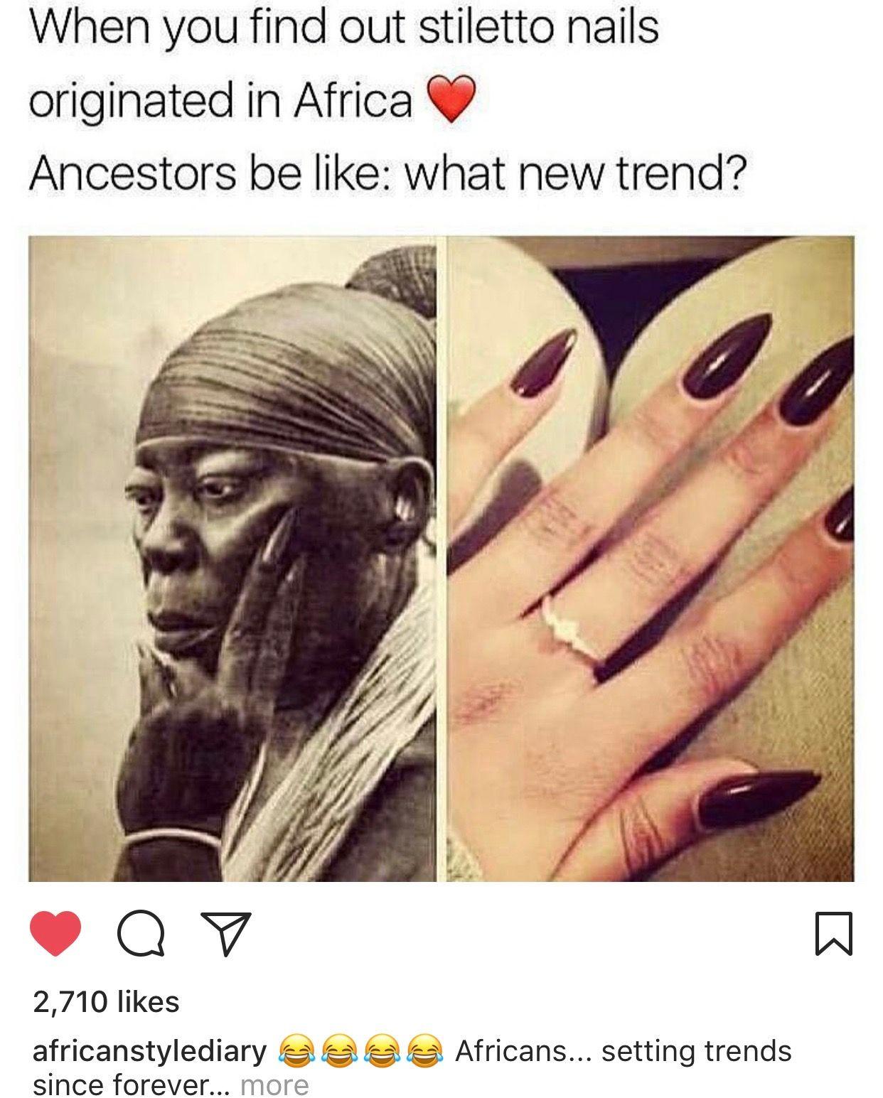 Nail art history nailed it pinterest history black history nail art history prinsesfo Images