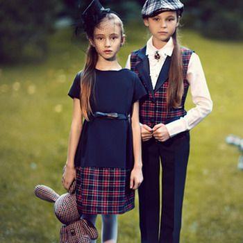 Школьная форма для девочек 2017 и фото моделей модной ...