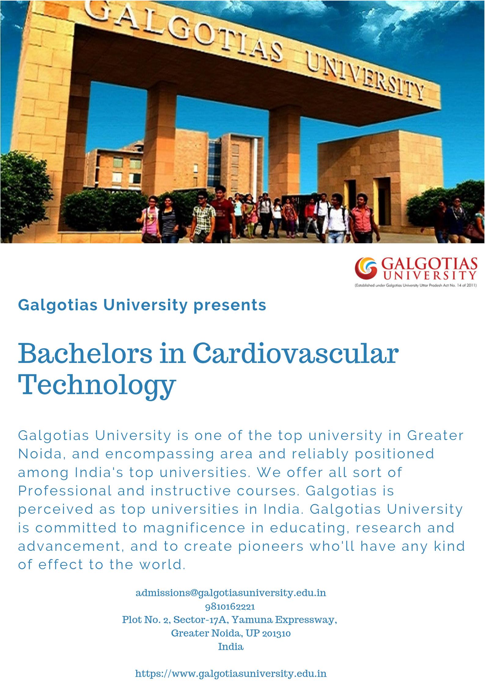 B Sc Cardiac Technology Course Galgotias University Effective Communication Skills Interpersonal Communication Skills Cardiovascular