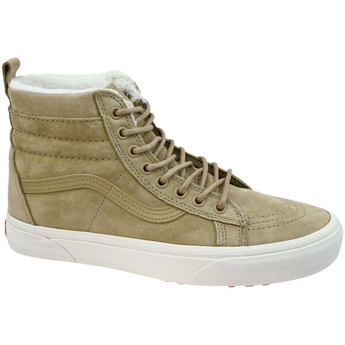 Vans Sk8 Hi Mte W Vn0a33txuc31 Brown Vans Sk8 Vans Vans High Top Sneaker