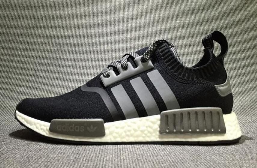ADIDAS NMD R1 PRIMEKNIT BY1887 CORE BLACK GUM PACK
