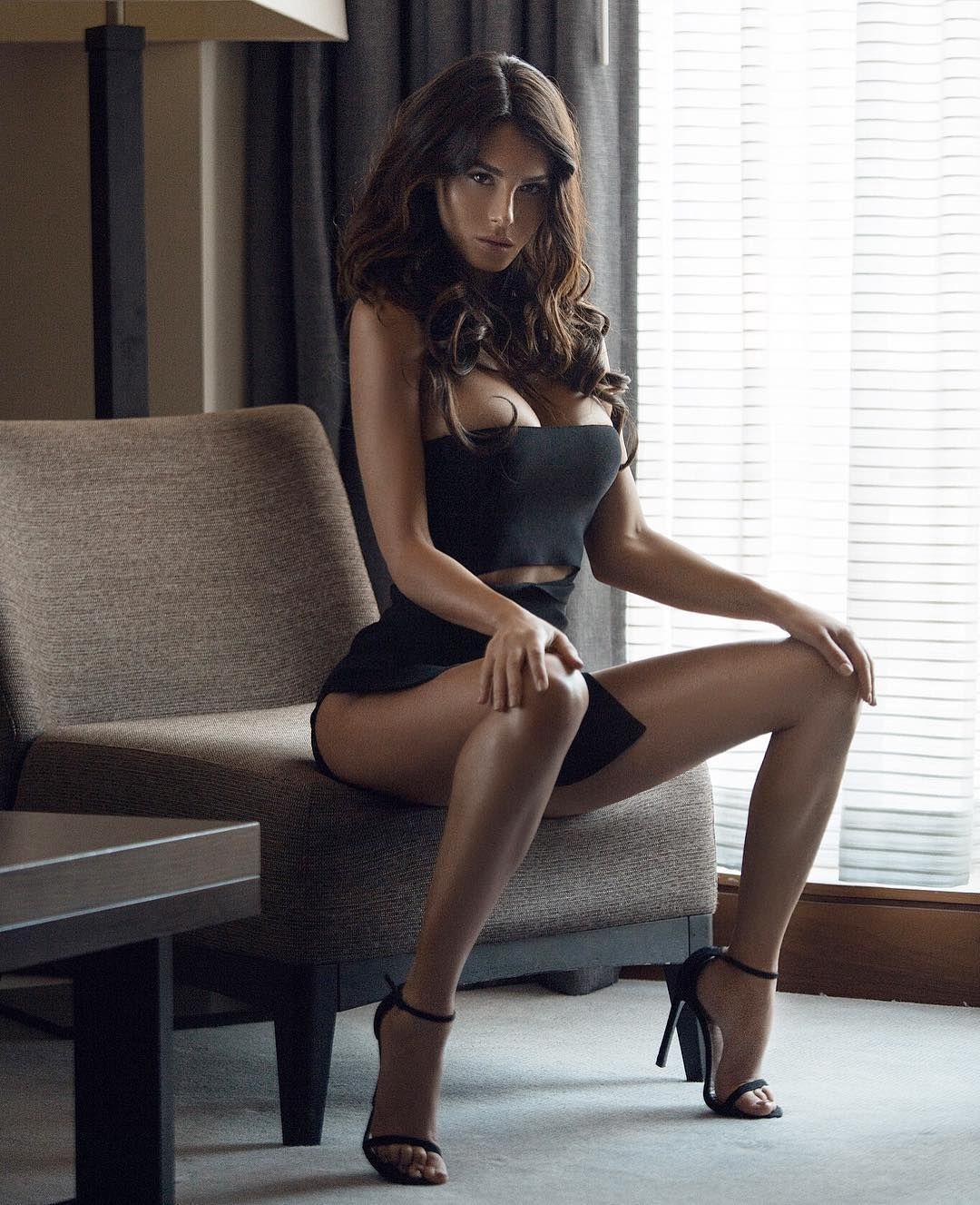 Silvia hot MILF at home