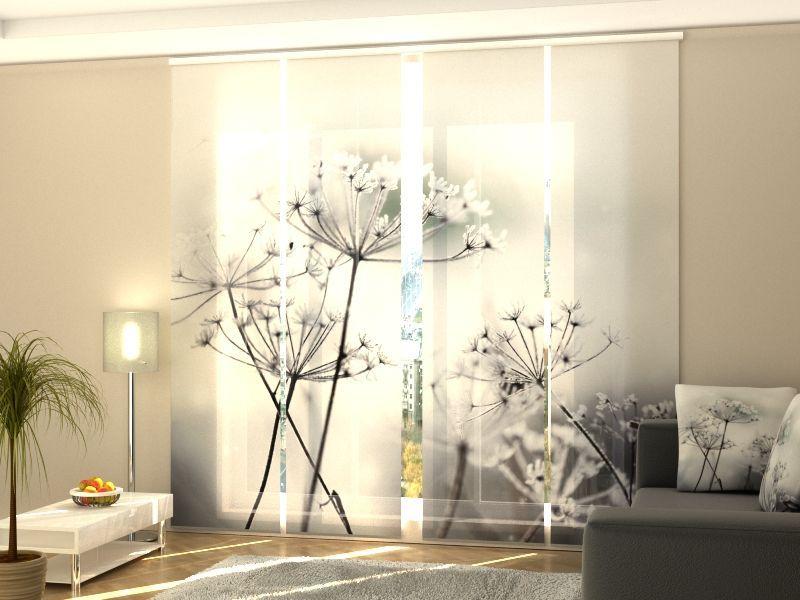 schiebegardinen nach ma schiebevorh nge raumteiler. Black Bedroom Furniture Sets. Home Design Ideas