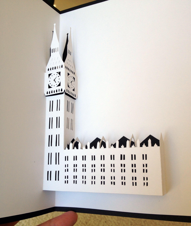 макет открытка здания панкам