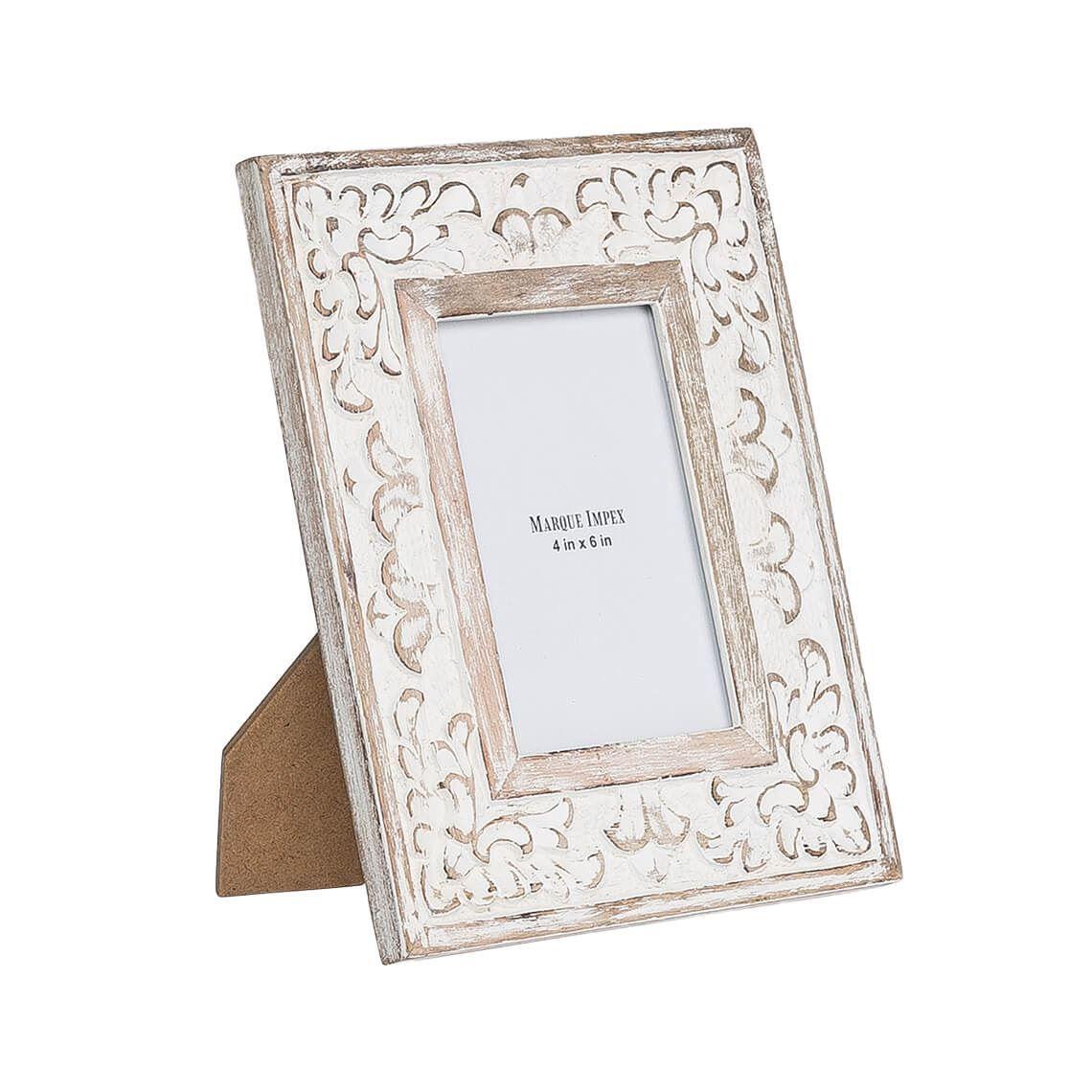 Bodrum 4x6 Inch Photo Frame White Wash In 2019 Frame Bodrum