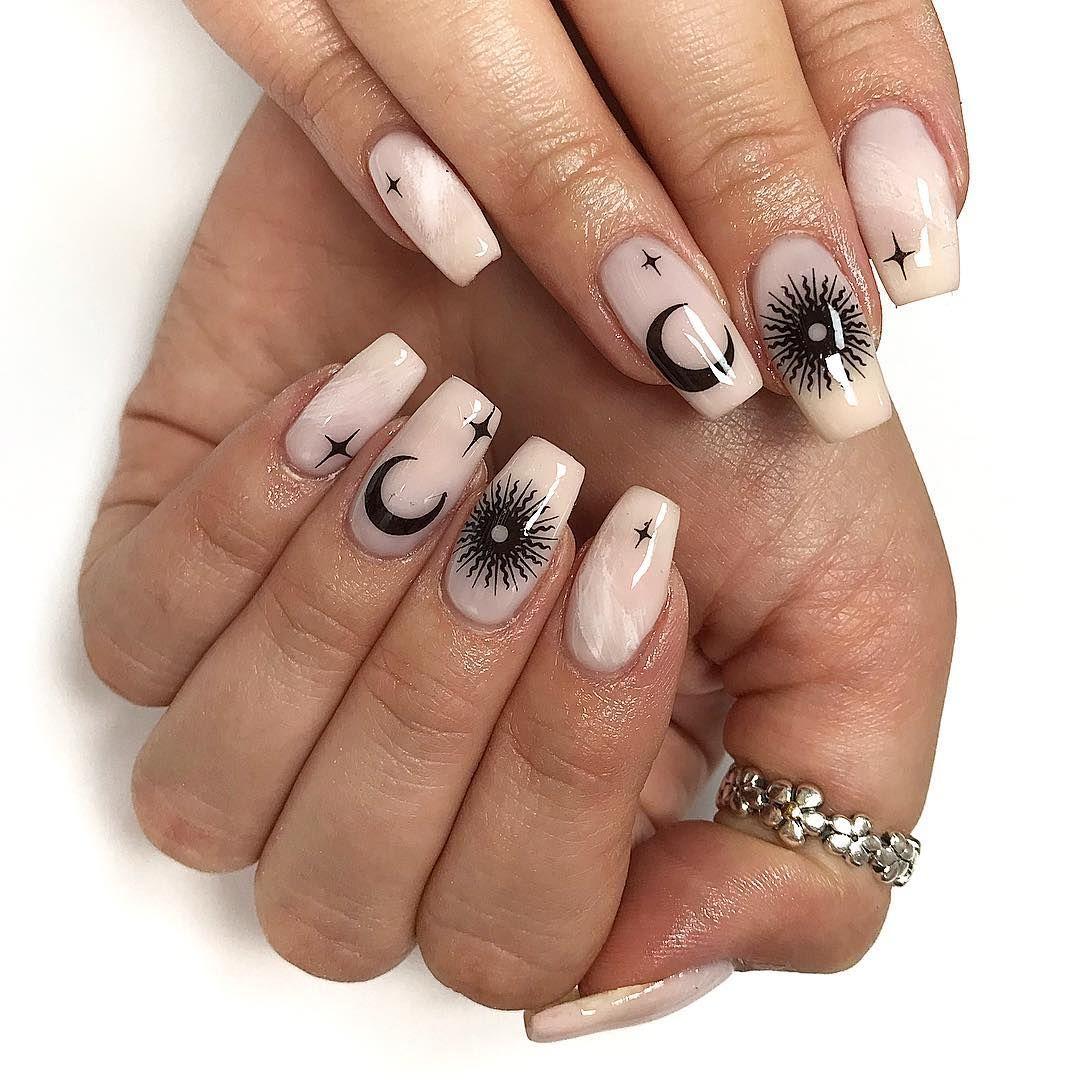 Moon Nail Art Designs 30 Picture Our Nail Nails Nailart Naildesigns Cosmetics Makeup Homedecor Beauty Beautifu Trendy Nails Simple Nails Moon Nails