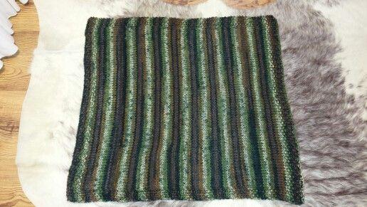 Afghan I knitted for Slade & shipped to Alaska
