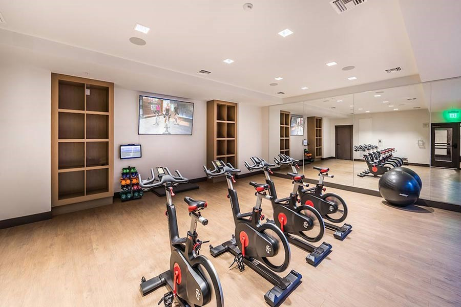 Towneplace Suites Little Rock West Fitness Center Guestroom Travel Holidays Suites Little Rock Hotel