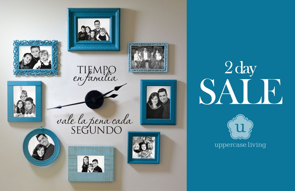 Flash Sale 2 days only! Get your clock for $34.95 at http://allisonf.uppercaseliving.net #ULAAA #uppercaseliving 3.19.15 - 3.20.15