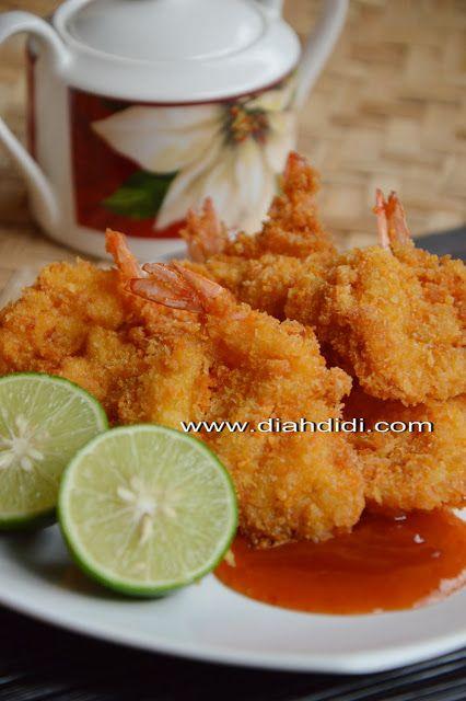 Diah Didi S Kitchen Udang Goreng Kipas Renyah Resep Masakan Resep Resep Makanan Asia