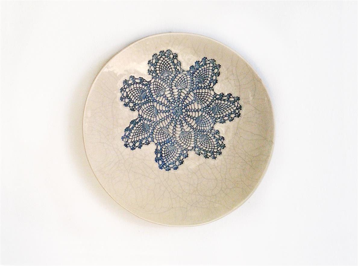 Inspirational Keramik Wand Deko Wand Keramik Kunst Keramik Wohndeko runde Wall Platte Shabby