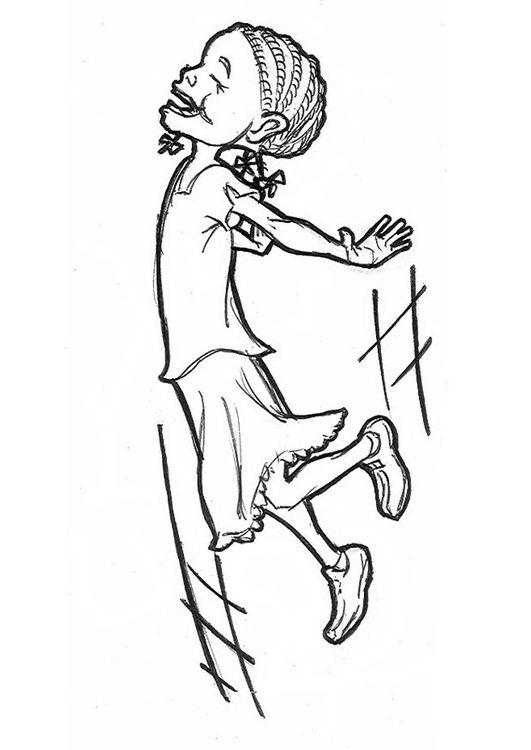 Malvorlage Frohliches Madchen Ausmalbild 9238 Malvorlagen Bilder Zum Ausmalen Schulbilder