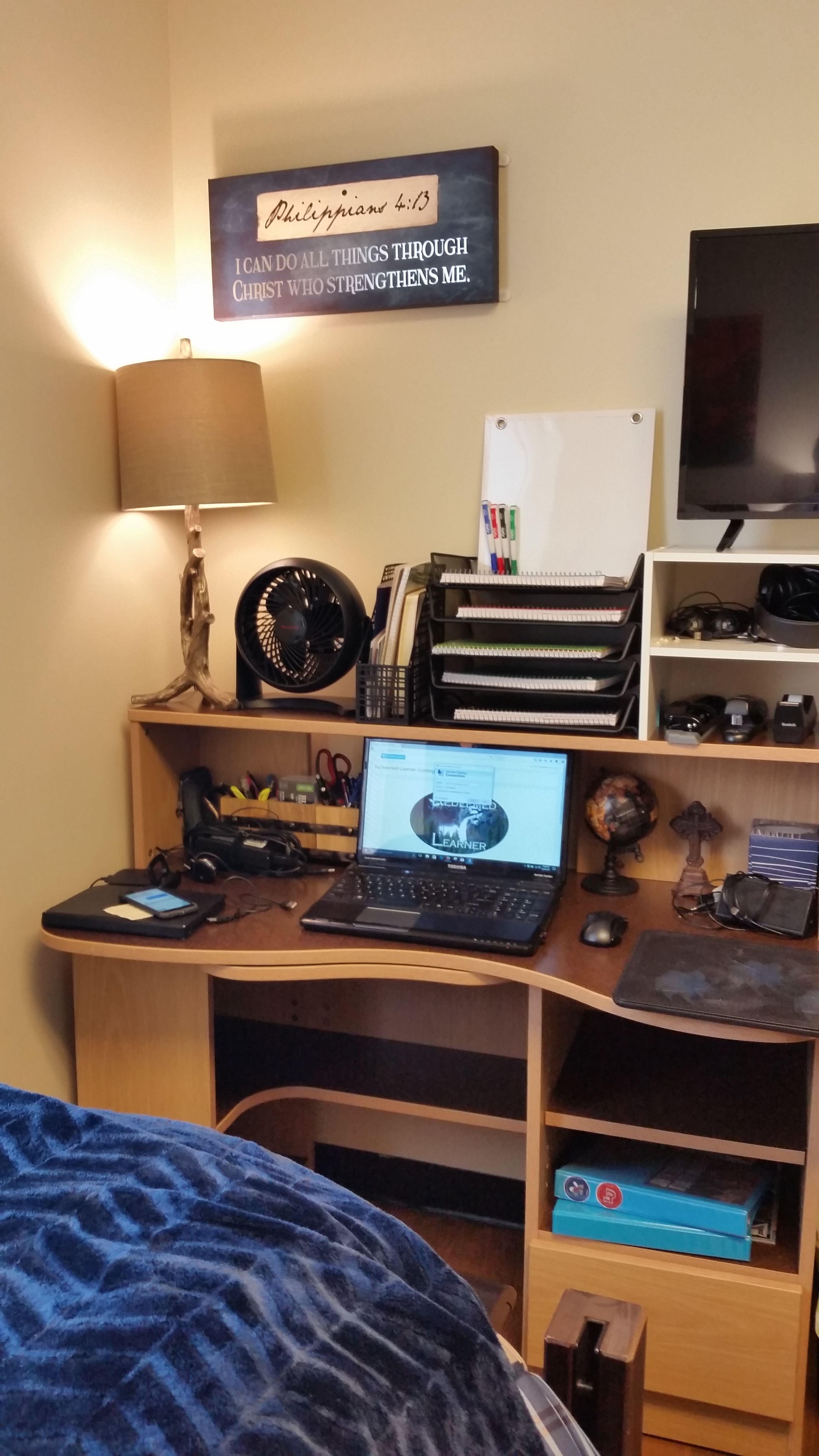 Marvelous LU Commons Desk Fan Is A Must! Nice Look