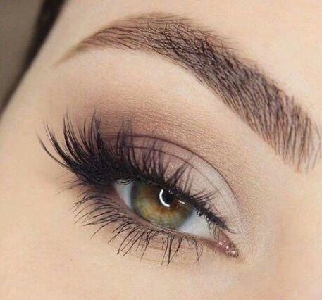 Makeup Cesca Ronaldson Matte Eye MakeupHazel