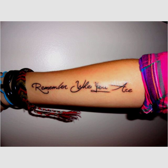 Remember Who You Are Tattoo Lion King Quote One Of My Favorite