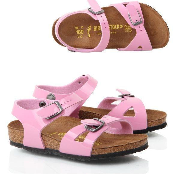 ad595c0ef4 Orthopedic Birkenstock pink sandals for little girl, very comfortable,  doesn't make blisters. Color - pink. . Everything works. Birkenstock Shoes  Sandals