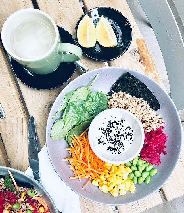Mixed veg meal idea with nori sheets and rice! We don't
