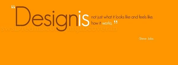 RESIZED.Design is not just looks.quote 2 | wall stickers ...