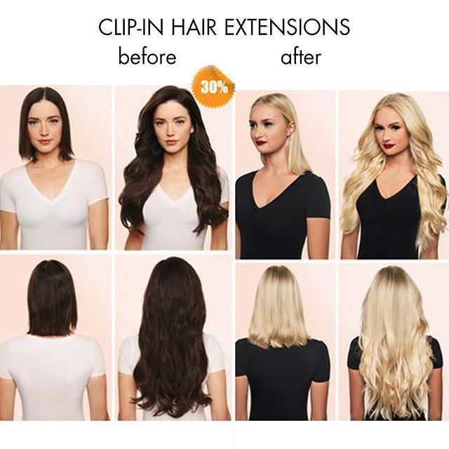 Magically clip in hair extensions turn the short hair into longer magically clip in hair extensions turn the short hair into longer and fuller hair over pmusecretfo Images