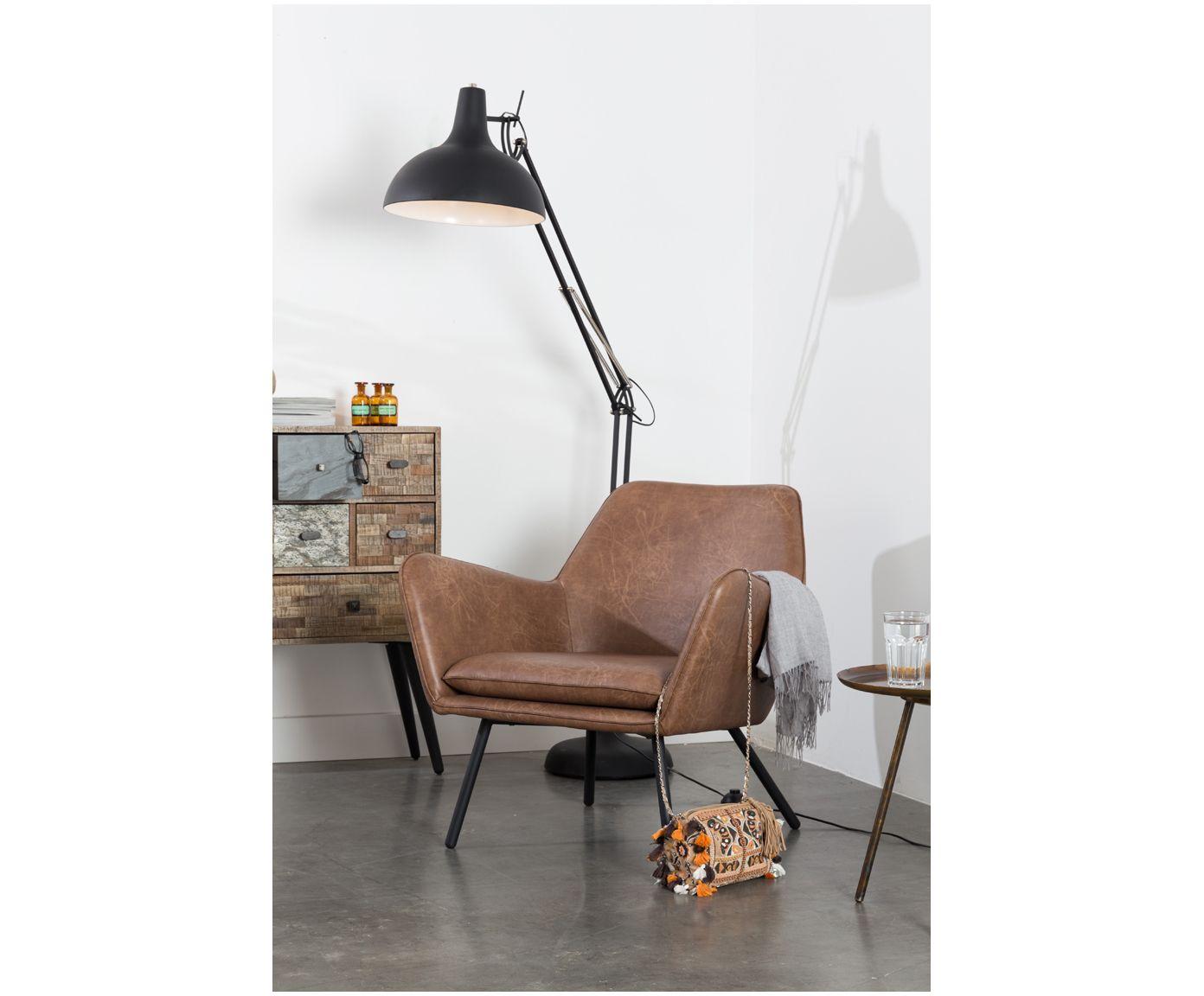 Kunstleder Sessel Bon Im Industrial Design Westwingnow Haus Deko Sessel Stühle