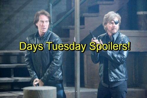 Days of Our Lives Spoilers: Orpheus Plots Kayla and Marlena's Death by Fire, John and Steve Desperate – Paul Faces Emergency
