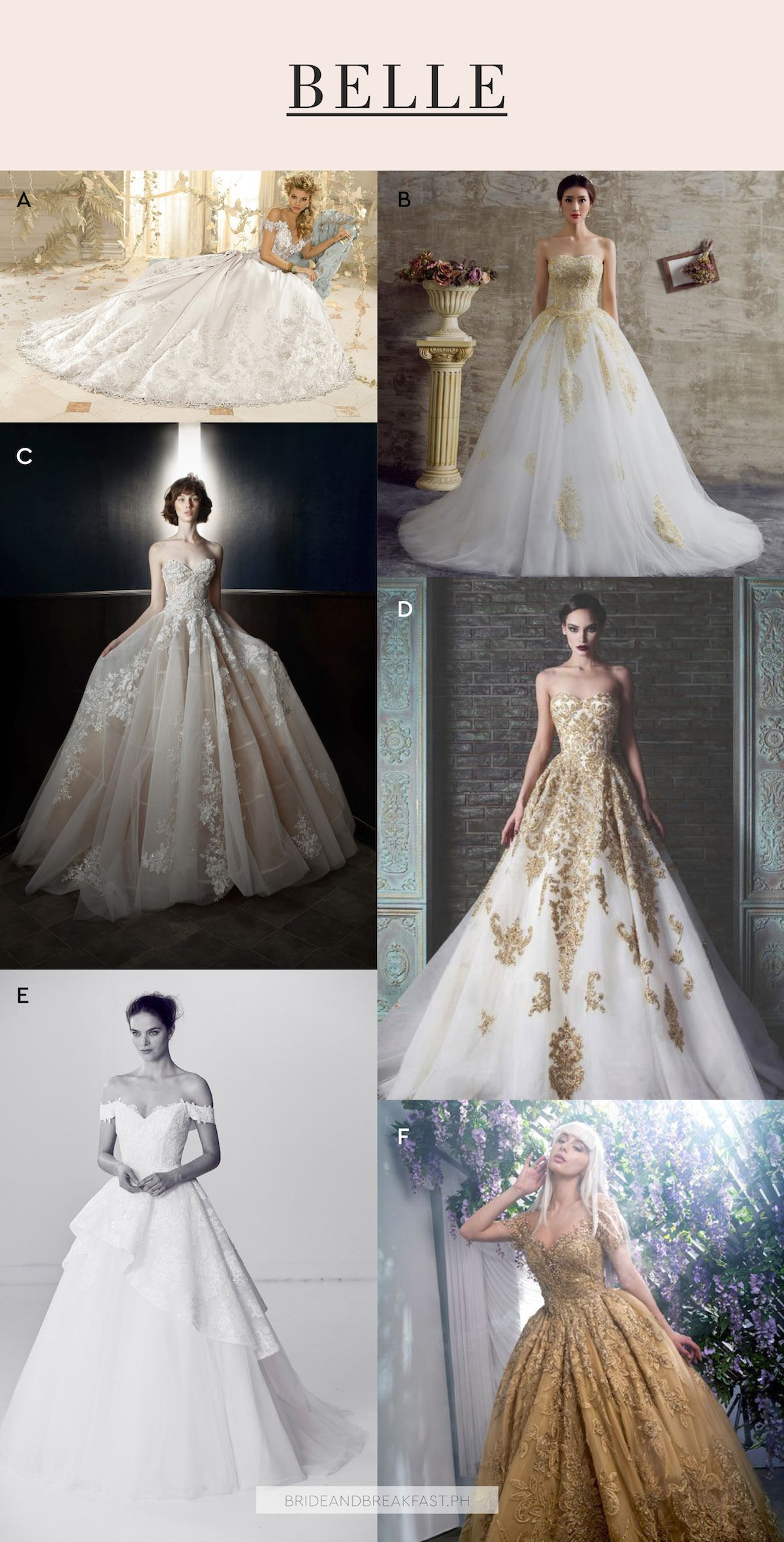 Bridal Dresses With Sleeves | Belle, Wedding dress and Bridal dresses