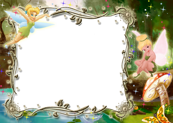 Kids Transparent Photo Frame With Tinkerbell Im 225 Genes