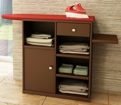 Tabla de planchar mueble buscar con google pinteres for Mueble para tabla de planchar