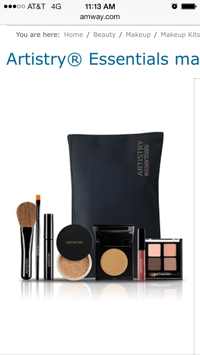 Artistry Mineral Makeup Kit On The Go Perfect Makeup Kit