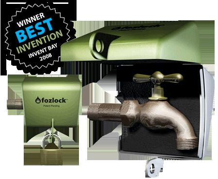 Fozlock 3d Best Invention Water Hose Bib Lock To Prevent Water Theft Faucet Outdoor Outdoor Swing