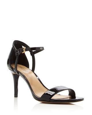 Women S Simone Ankle Strap High Heel Sandals In Black Sandals Heels Ankle Strap High Heels Ankle Strap Sandals Heels